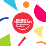 CYPCS logo with multicolored shapes around it.