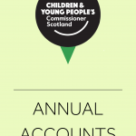 Cover for our annual accounts.