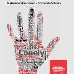 Front cover of our investigation into restraint and seclusion.