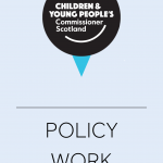 Cover for policy work created by the Commissioner's office.