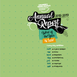 CYPCS Annual report cover for 2018-2019.