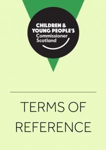 Cover image for our Terms of Reference.