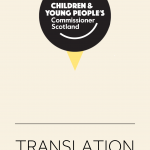 A cover for translated materials.