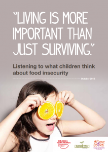 "The cover of our research publication ""Living is more important than just surviving""."