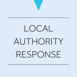 Cover image for a Local Authority Response.