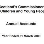 Commissioner's annual report and accounts for year ended 31 March 2009.