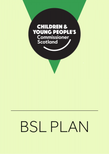 Cover for resources linked to our BSL Plan.