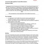Cover for our memorandum for the Coronavirus Bill (Scotland)