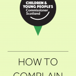 A cover for our complaints policy.