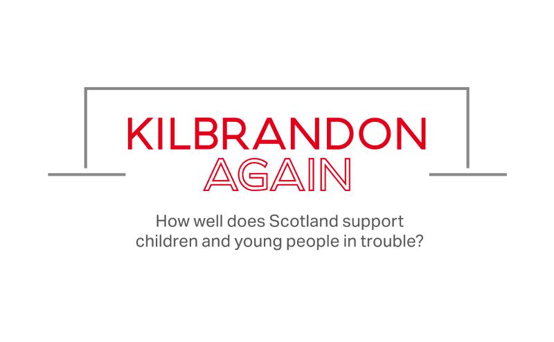 The logo of Kilbrandon Again.