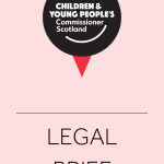 Cover for legal briefs produced by the Commissioner's office.