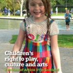 """Cover of """"Children's right to play, culture and arts."""""""