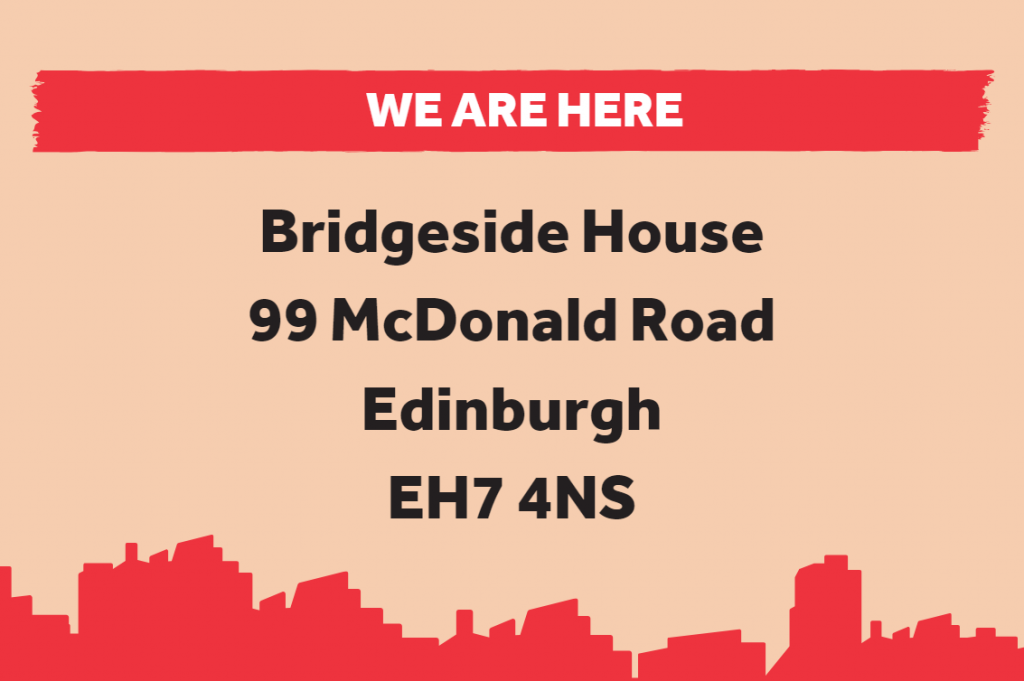 An image showing our new address.