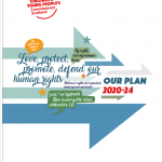 The front cover for our Strategic Plan 2020-24
