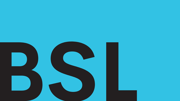 "A decorative image of the letters ""BSL""."