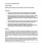 Cover of Coronavirus (Scotland) bill, stage 1 debate