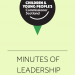 Cover for minutes of the Leadership Group.