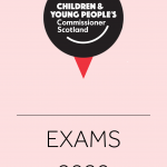 Cover for our documents around the 2020 exams.