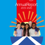 The cover of our 2019/20 Annual Report.