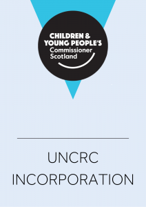 Cover for work around UNCRC Incorporation