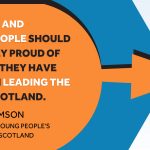 """Quote from Commissioner Bruce Adamson: """"Children and young people should be rightly proud of the part they have played in leading the way in Scotland."""""""